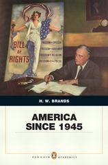 America Since 1945 1st edition 9780205568482 0205568483