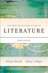 The Norton Introduction to Literature 10th Edition 9780393934267 0393934268