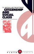 Citizenship and Social Class 1st Edition 9780745304762 0745304761