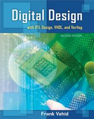 Digital Design with RTL Design, Verilog and VHDL 2nd Edition 9780470531082 0470531088