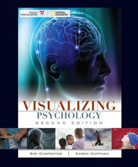 Visualizing Psychology 2nd Edition 9780470410172 0470410175