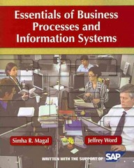 Essentials of Business Processes and Information Systems + WileyPlus Registration Card 1st Edition 9780470505694 0470505699