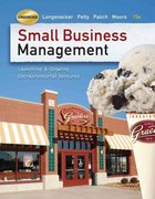 Small Business Management 15th edition 9780324827835 0324827830