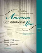 American Constitutional Law 3rd edition 9781442205901 1442205903