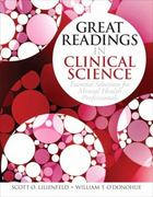 Great Readings in Clinical Science 1st edition 9780205698035 0205698034
