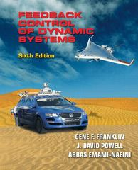 Feedback Control of Dynamic Systems 6th edition 9780133002270 0133002276