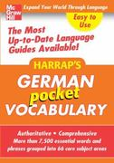 Harrap's Pocket German Vocabulary 1st edition 9780071636223 0071636226