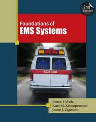 Foundations of EMS Systems 2nd Edition 9781435480278 1435480279