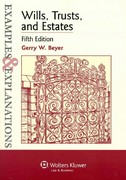 Wills Trusts and Estates 5th Edition 9780735588240 0735588244