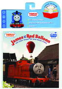 James and the Red Balloon Book and CD (Thomas & Friends) 0 9780375830266 037583026X
