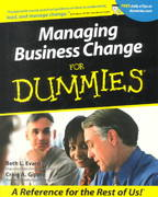 Managing Business Change For Dummies 1st edition 9780764553325 0764553321
