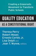 Quality Education as a Constitutional Right 1st edition 9780807032824 0807032824