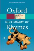 Oxford Dictionary of Rhymes 0 9780192806888 0192806882