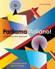 Parliamo Italiano 4th edition 9780470526774 0470526777