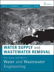 Fair, Geyer, and Okun's, Water and Wastewater Engineering 3rd edition 9780470411926 0470411929