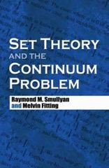 Set Theory and the Continuum Problem 0 9780486474847 0486474844