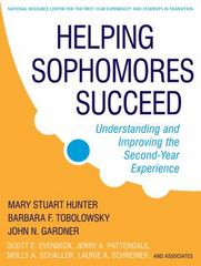 Helping Sophomores Succeed 1st edition 9780470192757 0470192755