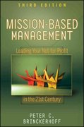 Mission-Based Management 3rd Edition 9780470432075 0470432071