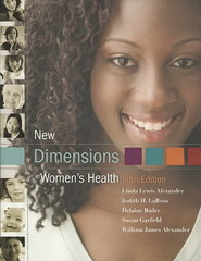 New Dimensions in Women's Health 5th Edition 9780763765927 0763765929