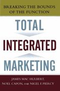 Total Integrated Marketing 0 9781439167274 1439167273