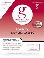 Geometry GMAT Preparation Guide, 4th Edition 4th edition 9780982423837 0982423837