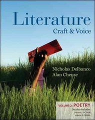 Literature: Craft and Voice (Volume 2, Poetry) 1st edition 9780077214241 0077214242