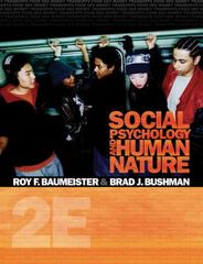 Social Psychology and Human Nature, Comprehensive Edition 2nd Edition 9780495601333 0495601330