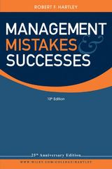 Management Mistakes and Successes 10th edition 9780470530528 0470530529