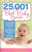 25,001 Best Baby Names 2nd edition 9781402226595 1402226594