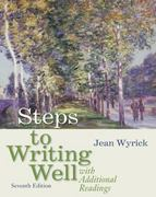 Steps to Writing Well with Additional Readings (with 2009 MLA Update Card) 7th edition 9780495899761 0495899763