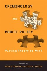 Criminology and Public Policy 0 9781439900079 1439900078