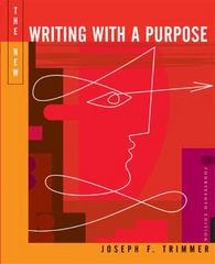 The New Writing with a Purpose (with 2009 MLA Update Card) 14th edition 9780495899655 0495899658