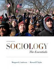 Sociology 6th edition 9780495812234 0495812234