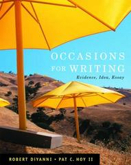 Occasions for Writing (with 2009 MLA Update Card) 1st Edition 9780495899945 0495899941