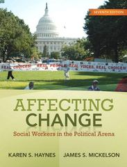 Affecting Change 7th edition 9780205763689 0205763685