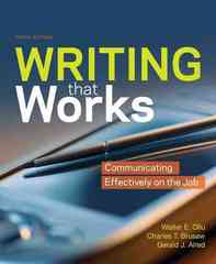 Writing That Works 10th edition 9780312541828 0312541821