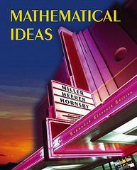 Mathematical Ideas Expanded Edition Value Pack (includes Tutor Center Access Code & Video Lectures on CD with Optional Captioning for Mathematical Ideas) 11th edition 9780321540553 0321540557