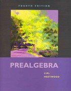 Prealgebra plus MyMathLab Student Access Kit 4th edition 9780321574886 0321574885