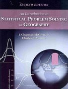 An Introduction to Statistical Problem Solving in Geography 2nd Edition 9781478617631 1478617632