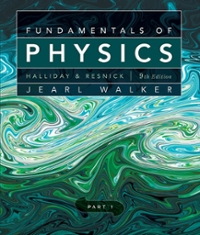 Fundamentals of Physics, Chapters 1-11 9th edition 9780470547915 047054791X