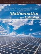 Technical Mathematics with Calculus 6th Edition 9781118136089 111813608X