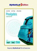 Prealgebra, The MyMathLab Edition 4th edition 9780321641403 032164140X