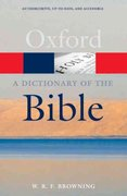 A Dictionary of the Bible, 2nd Edition 2nd edition 9780199543984 0199543984