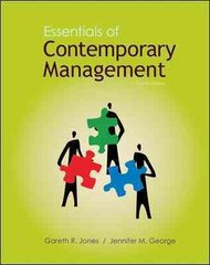 Essentials of Contemporary Management 4th edition 9780078137228 0078137225