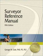 Surveyor Reference Manual 5th edition 9781591261742 1591261740