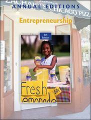 Annual Editions: Entrepreneurship, 6/e 6th edition 9780073528571 0073528579