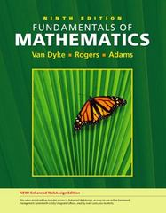 Fundamentals of Mathematics, Enhanced Edition 9th edition 9781111788261 111178826X
