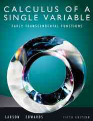 Calculus of a Single Variable 5th edition 9780538735520 053873552X