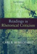Readings in Rhetorical Criticism 4th Edition 9781891136238 1891136232