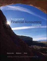 Fundamental Financial Accounting Concepts 7th edition 9780073527123 0073527122